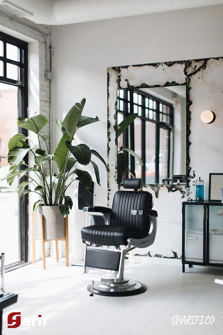 دکوراسیون آرایشگاه، سالن زیبایی مردانه